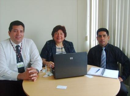 Convenio con Universidad Privada del Norte. Ing. Oswaldo Cifuentes, Decano. Agosto 2009.